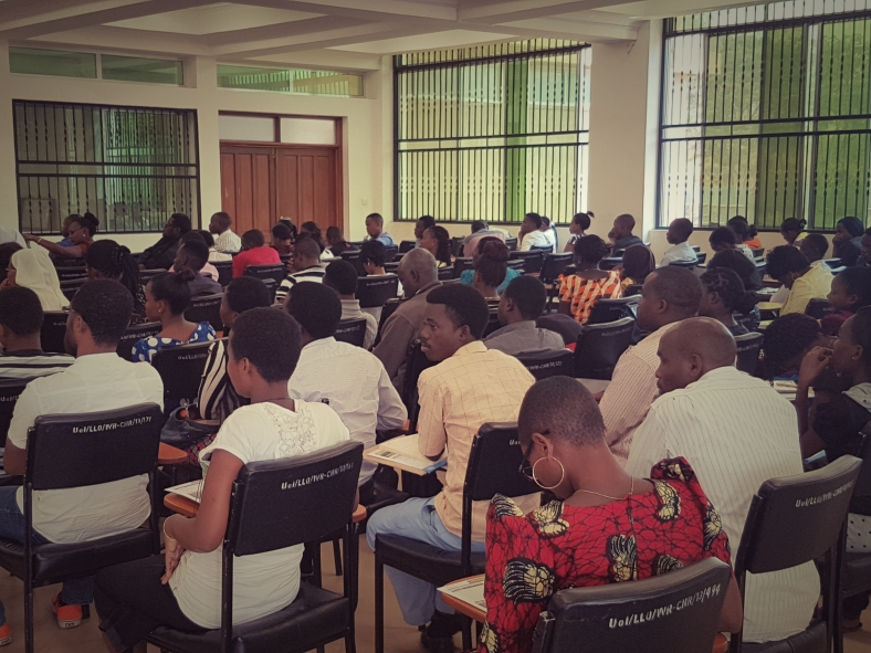 Students at Iringa University