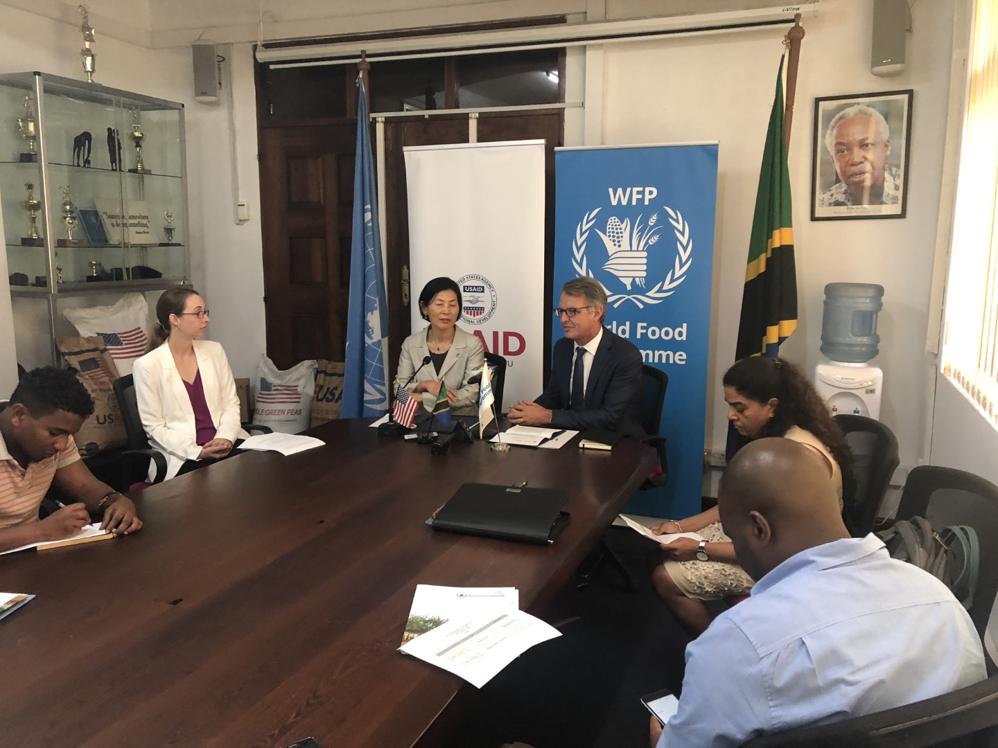 WFP meeting with donors