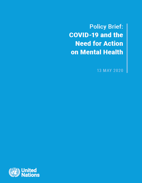 UN Policy Brief on COVID-19 and Mental Health