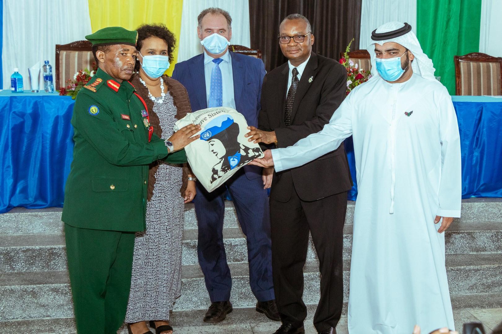 UAE Supports Women in Peacekeeping in Tanzania