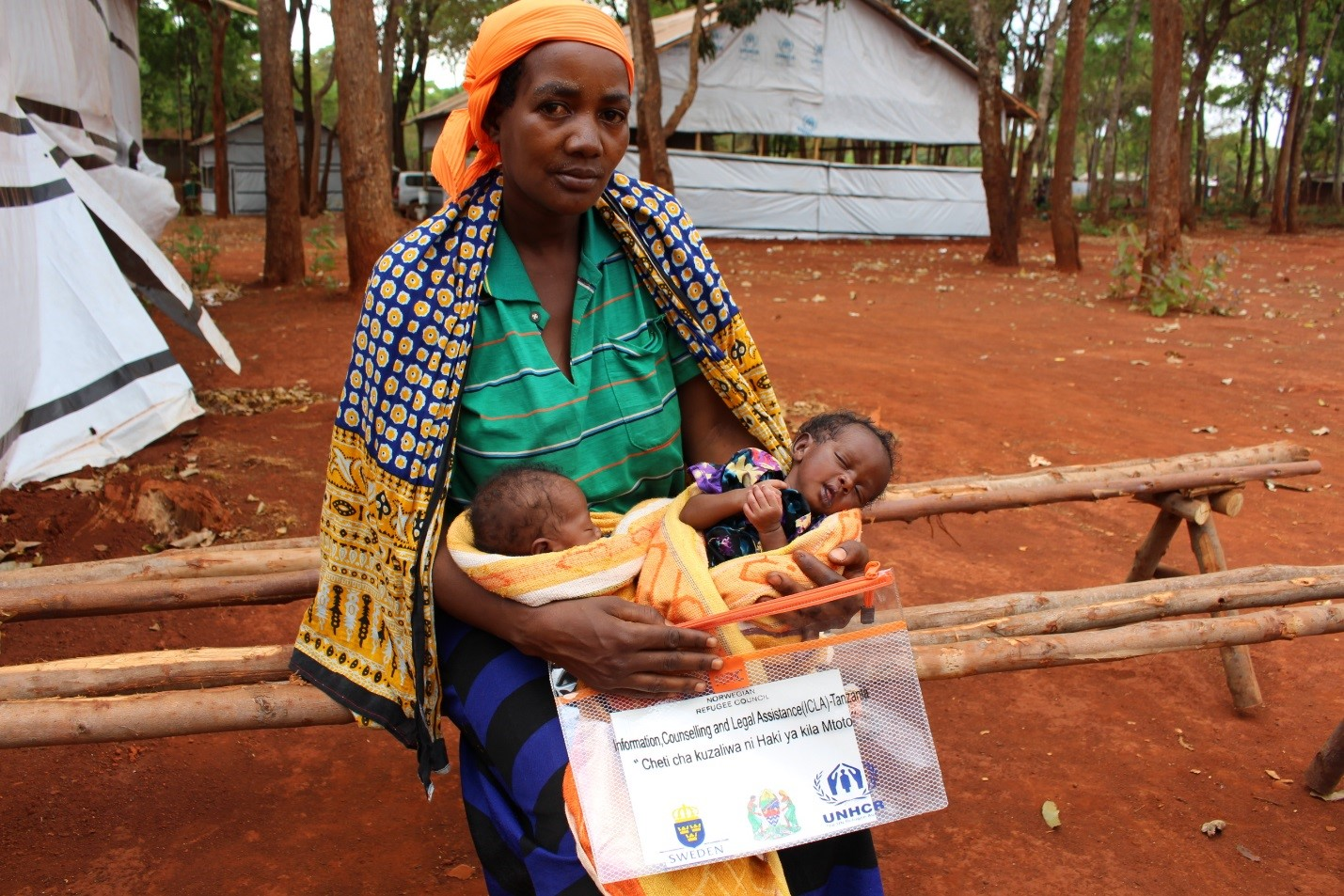 Refugee twins among the first to receive birth certificates in Tanzania