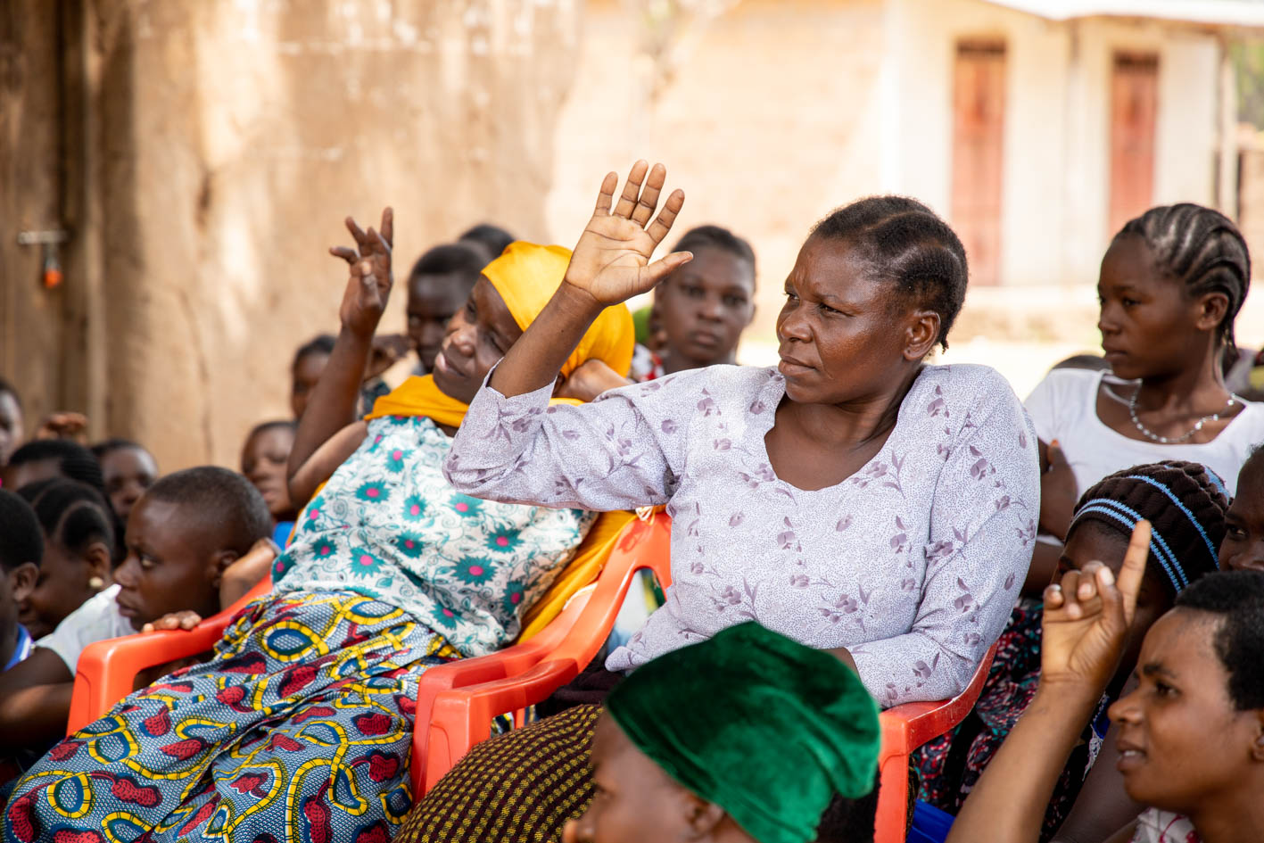 Women supporting women through Knowledge Centres in Shinyanga