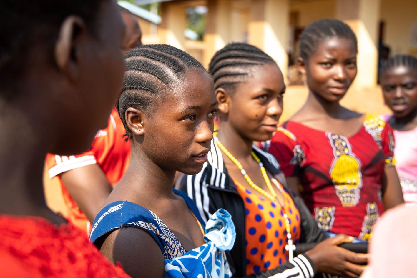 Menstrual hygiene matters for the girls in Nyarugusu refugee camp, Kigoma Region