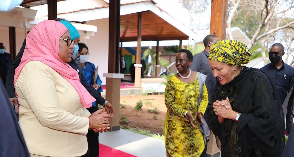 UN Deputy Secretary-General reaffirms UN's support to Tanzania and SDGs