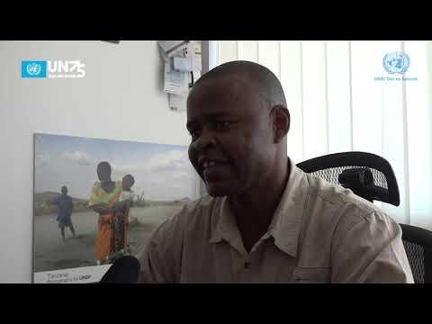 """Miaka 75 ya Umoja wa Mataifa,Mahojiano na  Abass Kitogo, Afisa Miradi UNDP """"Mazingira""""  Tanzania."""