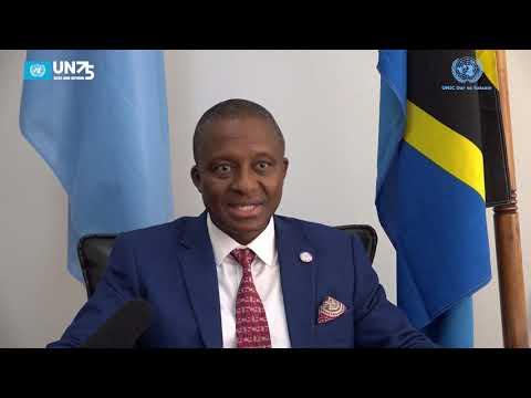 UN 75 : Interview with Stephen Kargbo, The UNIDO Representative for Tanzania.