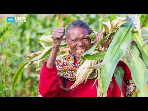UN 75 : Interview with Sarah Gordon-Gibson, WFP Representative for Tanzania.