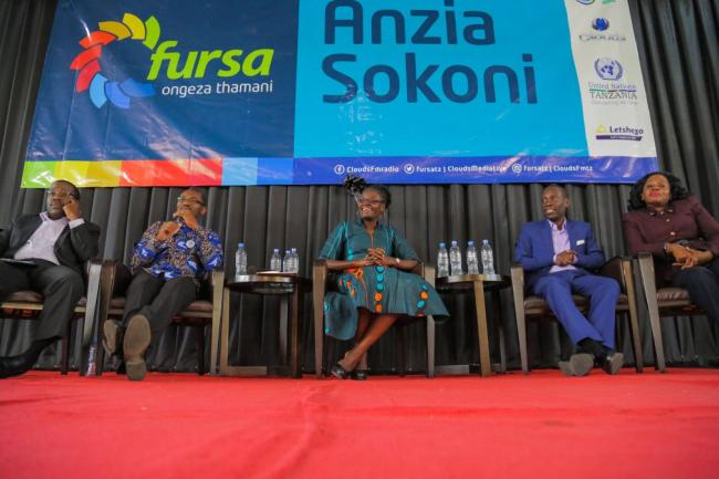 he official launch of FURSA in Morogoro with the Deputy Speaker of the National Assembly, Dr. Tulia Ackson