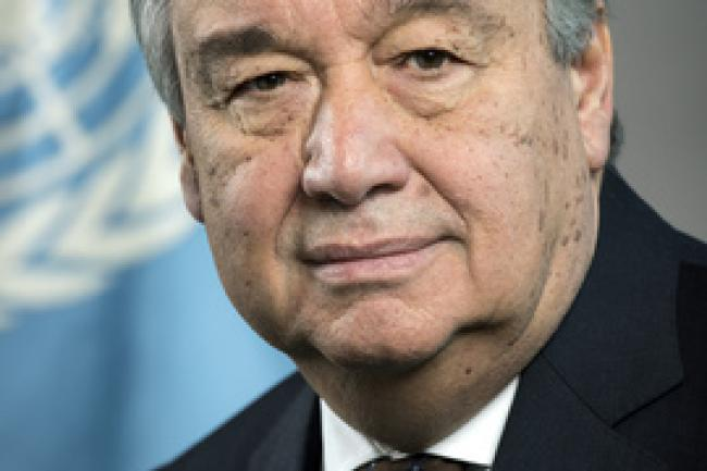 Antonio Guterres, the UN Secretary General